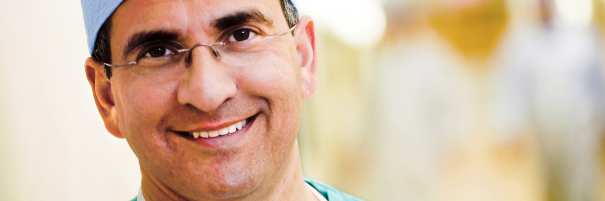 Plastic surgeon Peter Cordeiro specializes in implants and flap surgery for women with breast cancer