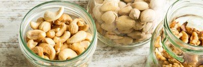 Various kinds of nuts