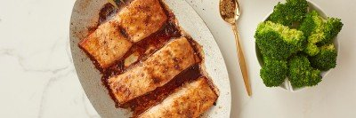Baked Salmon with Montreal Spice Rub